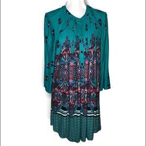 Reborn woman's dress. Boho look dress size large